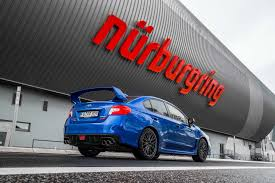 subaru nurburgring watch subaru break the four door lap record at the u0027ring motor trend