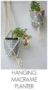 Simple Macrame Plant Hanger - macrame plant hanger at s house
