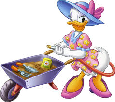 daisy duck clipart