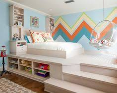 Kids Rooms For Girls by Turquoise Blue U0027s Bedroom Features A White Feather Chandelier