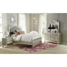 Lil Diva Champagne Piece Full Bedroom Set RC Willey Furniture - Bedroom sets at rc willey