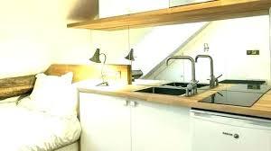 cuisine tout en un cuisine tout en longueur cuisine tout en longueur agencement