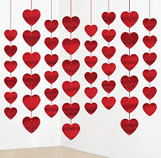 s day decorations 12pcs s day decorations heart garland party hanging