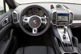 Porsche Cayenne Red Interior - 2012 porsche cayenne reviews and rating motor trend