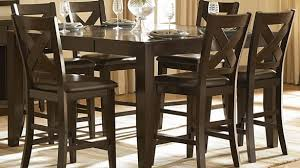 7 piece counter height dining room sets homelegance crown point 7 piece counter height dining room set sets