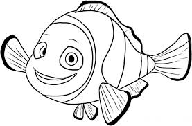 free finding nemo coloring pages kids coloringstar