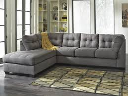 Microfiber Sectional Sofas by Gray Sectional Sofa With Chaise Lounge Best Home Furniture