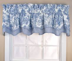 Toile Window Valances Victoria Park Toile Bradford Valance Thecurtainshop Com