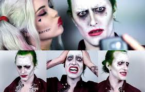 the joker squad ft harley quinn makeup tutorial youtube