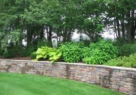 backyard retaining wall designs photo of nifty front yard