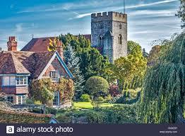 download this stock image st thomas church goring oxfordshire uk