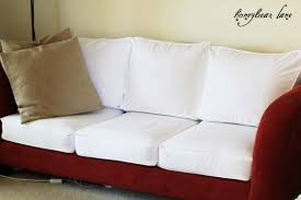 How To Sofa How To Make A Cushion Cover And Other Slipcover Tutorials