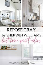 best sherwin williams paint color kitchen cabinets repose gray by sherwin williams the best home paint colors