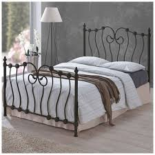 inova 4ft small double black metal bed metal bed frame bed frame