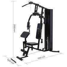 multi station adjustable fitness home gym equipment view home gym