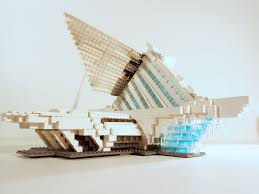 lego ideas milwaukee art museum santiago calatrava u0027s quadracci