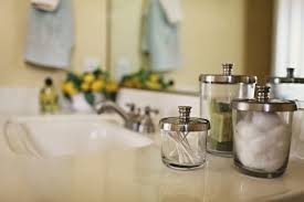 Bathroom Storage Jars Roomations Bathroom Organization Storage