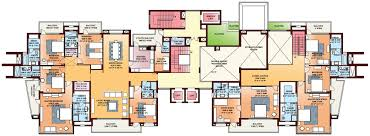 Typical Floor Plan Of A House by Parsvnath Exotica Gurgaon Discuss Rate Review Comment Floor