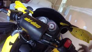 2005 skidoo mxz 600 h o sdi cold start youtube