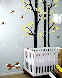arbre déco chambre bébé chambre bebe stickers deco arbre chambre bebe des ptits conseils