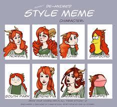 Art Owl Meme - style meme redhead by athenas owl on deviantart