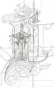 image result for illuminated letter design illuminated capital