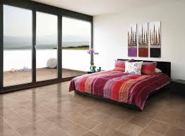 bedroom bedroom with red purple black bed cover matching with