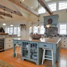 dream kitchens 16 spaces we love bob vila a country kitchen can have a contemporary flair feeling casual and modern at the same time borrow this idea paint the island a contrasting color to the
