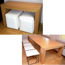 white space saver table havesome space saving table and chairs set for 10
