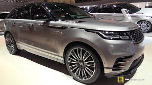 original range rover interior 2018 range rover velar exterior and interior walkaround 2017