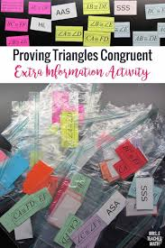 congruent triangles extra information activity mrs e teaches math