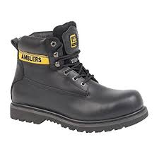 womens boots shoes uk unisex fs9 steel toe cap boot in black amazon co uk shoes bags
