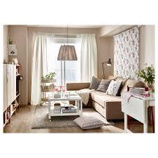 Living Ikea Friheten Sleeper Sectional 3 Seat W Storage Skiftebo Beige Ikea