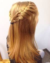 partial updos for medium length hair 50 half up half down hairstyles for everyday and party looks