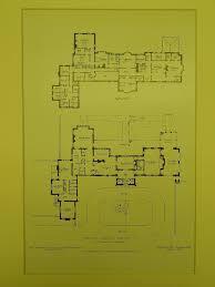 floor plans fairacres jenkintown pa 1908 lithograph wilson