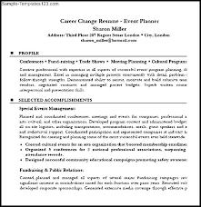 career change resume career change resume sles change of career resume career change
