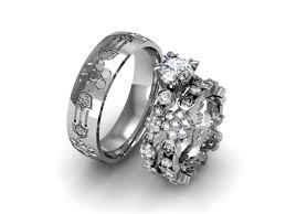 custom wedding rings custom designed wedding ring set diana jewelers