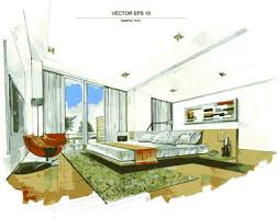 interior sketches interior sketch free vector download 3 091 free vector for