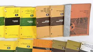 john deere technical manuals lot of17 l24 davenport 2016