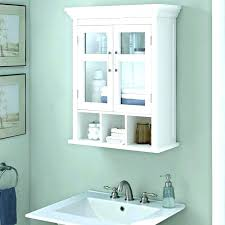 White Bathroom Cabinet With Glass Doors White Bathroom Wall Cabinet With Glass Doors Bathroom White Wooden