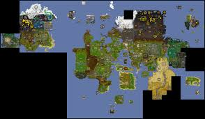 World Map Game World Map Old Runescape