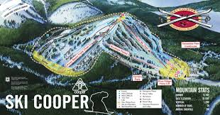 Colorado Ski Resort Map by Ski Cooper Colorado Ski Areas