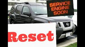 service engine soon light nissan maxima how to reset service engine soon light on a 2005 nissan xterra