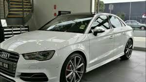 white audi sedan audi s3 sedan glacier white metallic