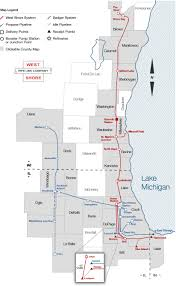 Brown Line Map County Maps West Shore Pipeline Company West Shore Pipeline