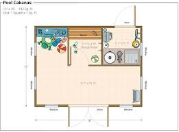 pool cabana floor plans shed pool house plans pdf shed plans black and deckeryourplans