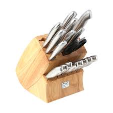 Kitchen Knives That Never Need Sharpening by Chicago Cutlery Insignia 18 Piece Block Set Walmart Com