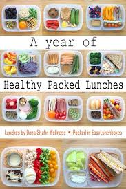 a year of healthy packed lunches in easylunchboxes easy lunch