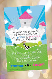 Twins 1st Birthday Invitation Cards 94 Best Princess And Prince Party Ideas Images On Pinterest