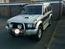 misubishi pajero 2 8td 7 seater 4x4 in sheffield south